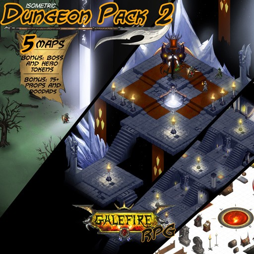 Isometric Dungeon Pack 2 GRPG