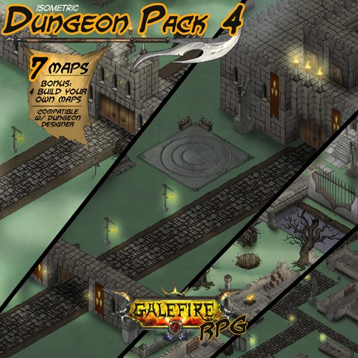 Isometric Dungeon Pack 4 GRPG
