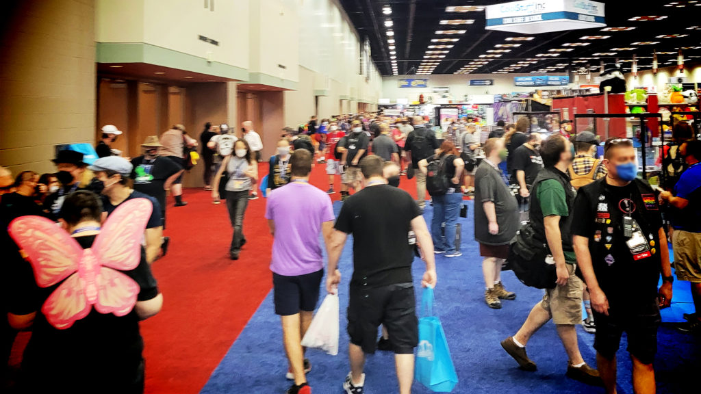 Convention crowd